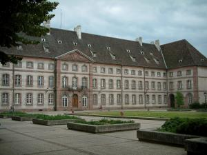 Colmar - Square and former hospital