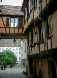 Colmar - Half-timbered houses