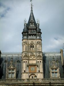 Compiègne - Belfry of the town hall