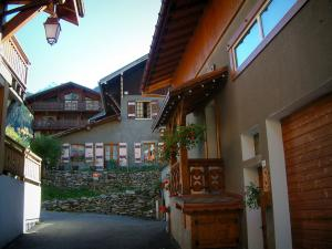 Les Contamines-Montjoie - Chalets of the village (ski resort)