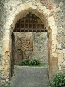 Cordes-sur-Ciel - Jane gateway (fortified gate)