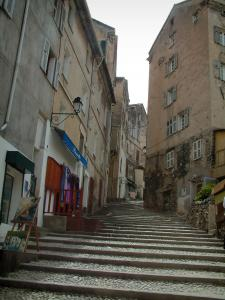 Corte - Street (stairway) lined with houses