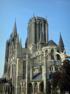 Coutances - Cathedral of Normandy Gothic style