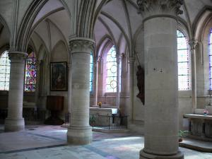 Coutances - Inside of the cathedral