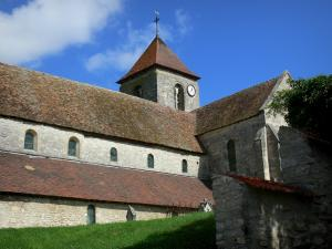Crugny church - Saint-Pierre church, in the Ardre valley