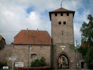 Dambach-la-Ville - Poort van de Walled City