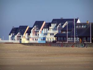 Deauville - Côte Fleurie (Flower coast): marina residences in Port-Deauville