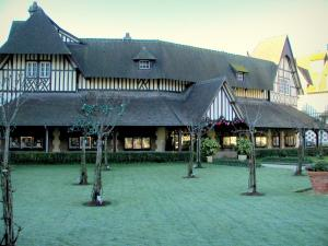 Deauville - Côte Fleurie (Flower coast): half-timbered house