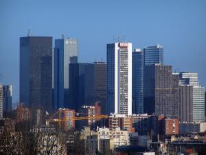 La Défense - Towers and buildings