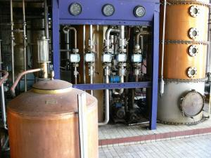 Distillerie Depaz - Tour of the distillery facilities