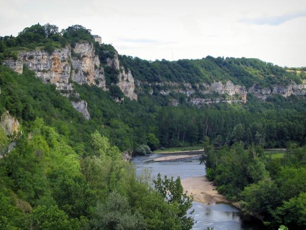 The Dordogne valley