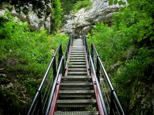 Doubs gorges - Ladder of Death