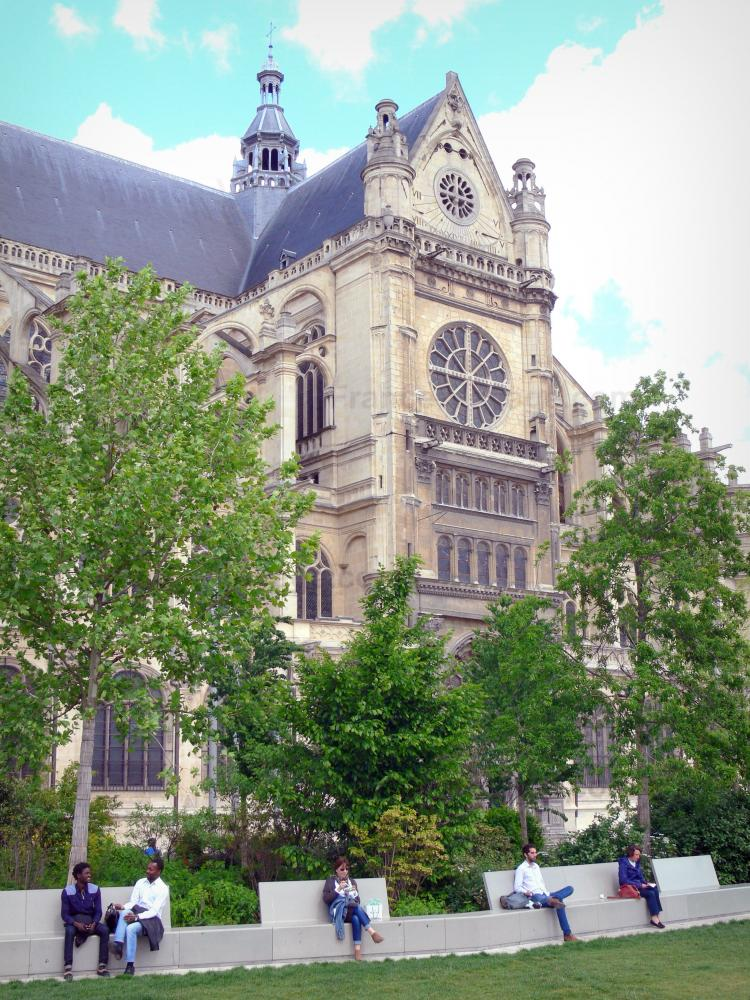 Photos l 39 glise saint eustache guide tourisme vacances for Jardin nelson mandela