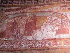 Glise saint martin de vic 15 images de qualit en haute for Fresque murale definition