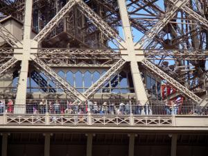 Eiffel tower - Second floor of the Eiffel tower