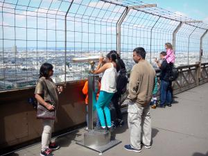 Eiffel tower - Telescope on the second floor