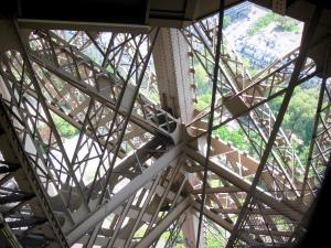 Eiffel tower - Detail of the tower structure