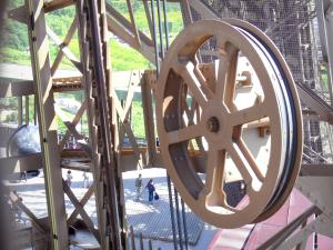 Eiffel tower - Mechanism of the elevator