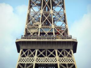 Eiffel tower - View from the second floor of the tower