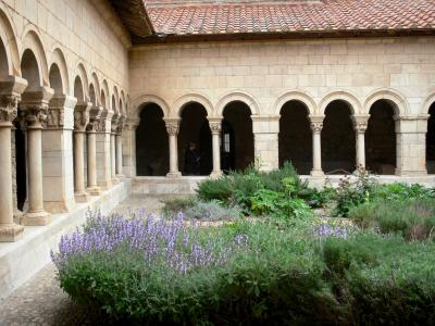 Elne cathedral and cloister