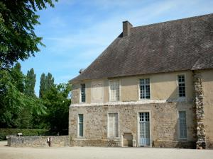 L'Épau abbey - Old Cistercian abbey of La Piété-Dieu, in Yvré-l'Évêque: monastic building