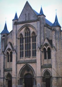 Eu - Notre-Dame-et-Saint-Laurent collegiate church of Gothic style