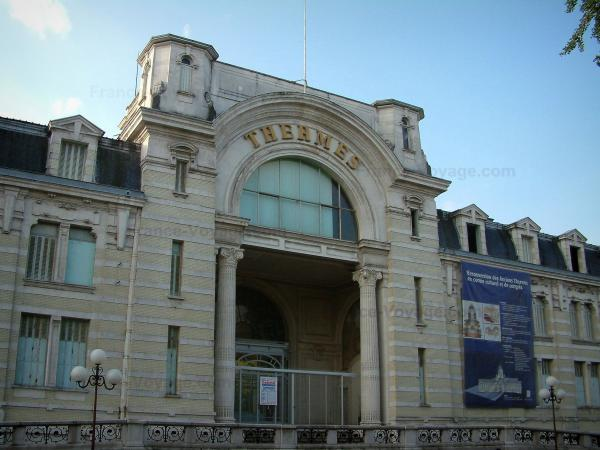 Évian-les-Bains - Ancient Thermes (hydropathic establishment) reconverted to cultural and congress centre