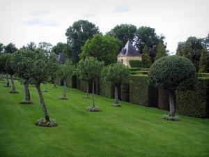 Eyrignac manor house gardens - French-style formal garden (verdure garden)