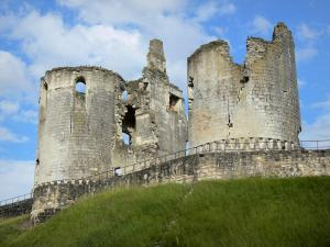 Fère-en-Tardenois - Remains of the Fère-en-Tardenois feudal castle