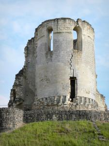 Fère-en-Tardenois - Remnant of the Fère-en-Tardenois feudal castle: tower of the medieval fortress