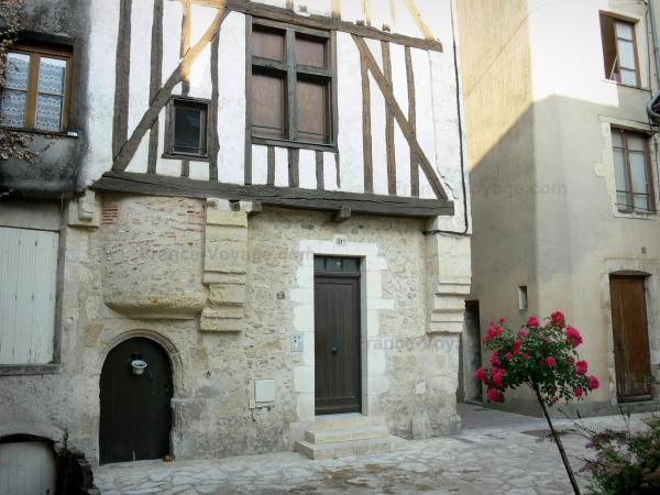 La Ferté-Bernard - Wood-framed house of the old town