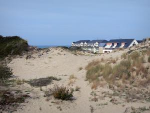 Fort-Mahon-Plage - Dune and residences