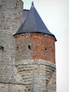Fortified churches of Thiérache - Marly-Gomont: watch tower of the Saint-Remi fortified church