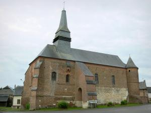 Fortified churches of Thiérache - Archon: Saint-Martin fortified church