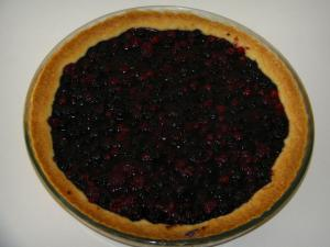 Fruits rouges - Tarte aux fruits rouges