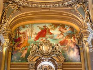 Garnier opera - Painting and gilding of the great hall