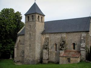 Gentioux - Church of the village