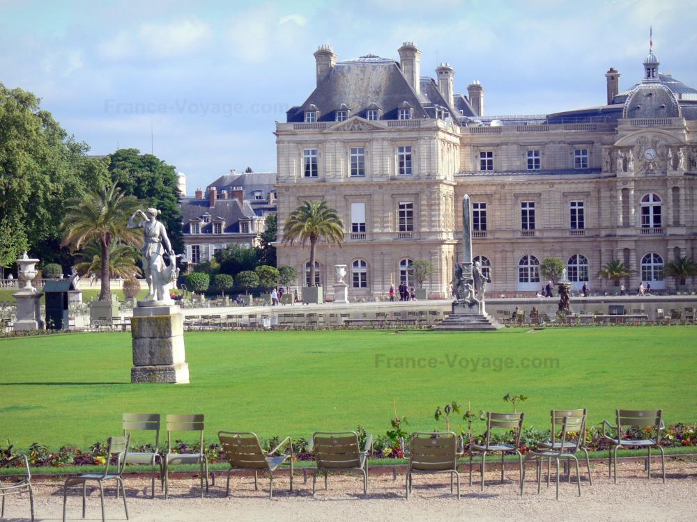 Foto giardino jardin du luxembourg 19 immagini di for Sede senato italiano