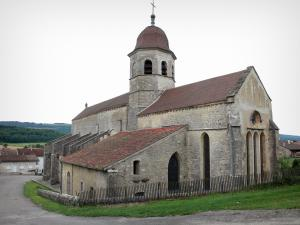 Gigny - Abbey church