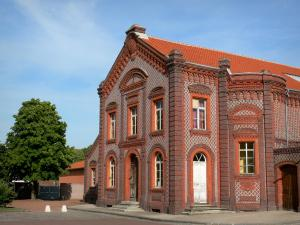 Godin gemeensschapshuis - Sociale Paleis van Guise: Theater Familistery, in Thierache