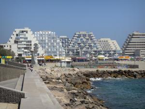 La Grande-Motte - Seaside resort with its pyramid-shaped buildings