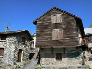 La Grave - Houses of the village