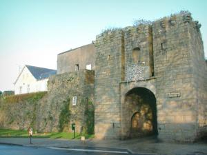 Guérande - Saillé gateway and ramparts (fortifications) of the medieval town