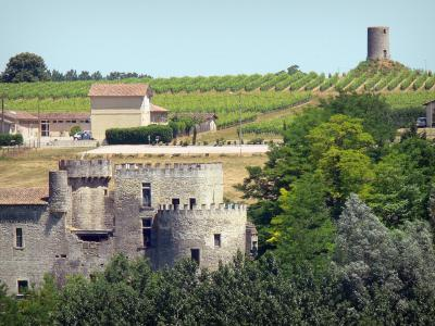Guilleragues castle