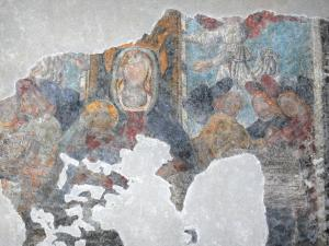 Guillestre - Painted murals of the Assumption church (Notre-Dame-d'Aquilon church)