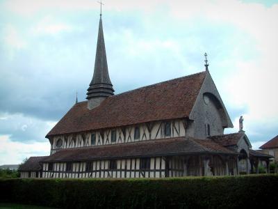 Half-timbered church