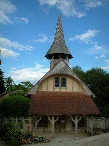 Half-timbered church - Saint-Jean chapel (Half-timbered building) in Soulaines-Dhuys