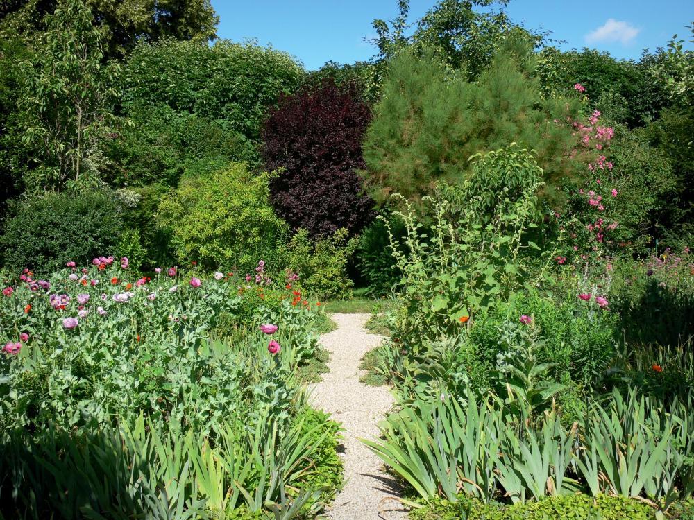 Bilder das haus und die gärten von claude monet führer tourismus