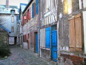 Honfleur - Timber-framed stone houses