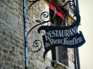 Honfleur - Forged iron shop sign